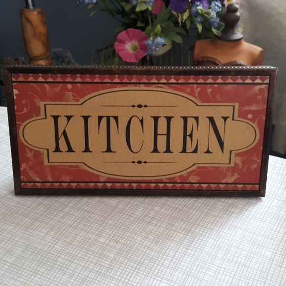 none Other - Cute kitchen plaque